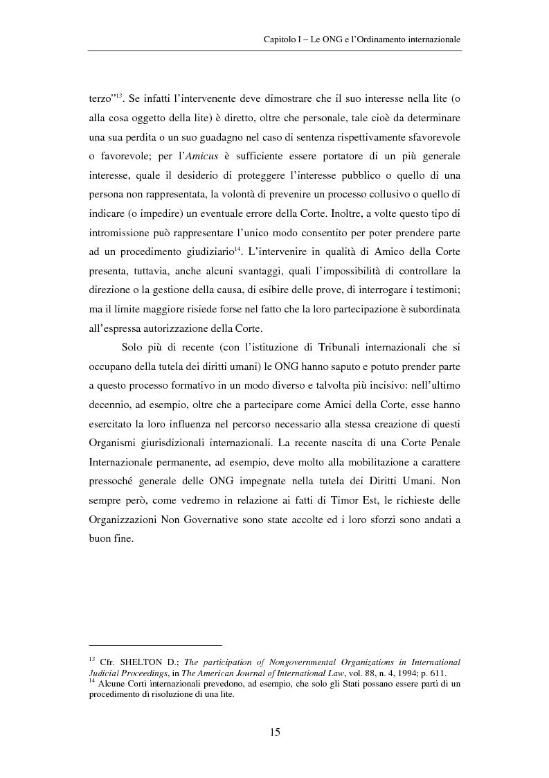 Anteprima della tesi: Il ruolo delle Organizzazioni Non Governative nel sistema del Tribunale Penale Internazionale per i crimini commessi nel territorio dell'ex Jugoslavia, Pagina 15