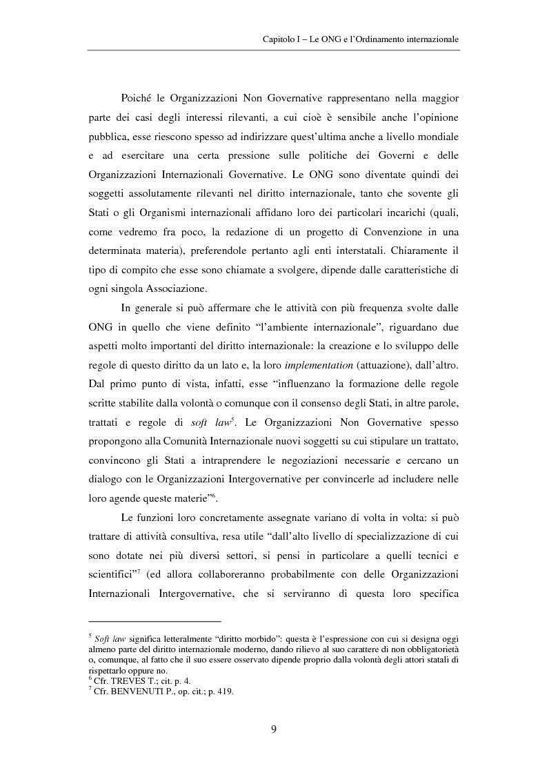 Anteprima della tesi: Il ruolo delle Organizzazioni Non Governative nel sistema del Tribunale Penale Internazionale per i crimini commessi nel territorio dell'ex Jugoslavia, Pagina 9