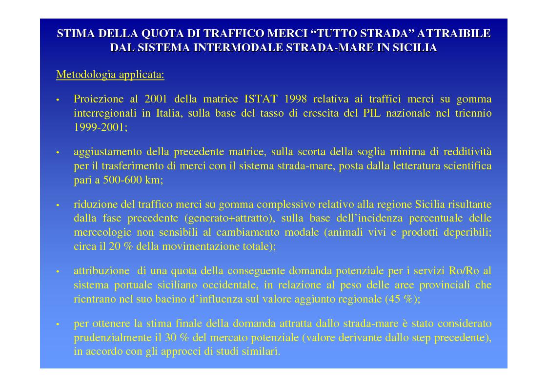 Anteprima della tesi: La logica del sistema portuale per lo sviluppo del trasporto combinato strada-mare in Sicilia, Pagina 10