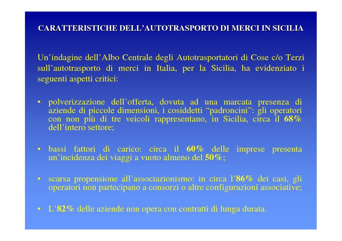 Anteprima della tesi: La logica del sistema portuale per lo sviluppo del trasporto combinato strada-mare in Sicilia, Pagina 14