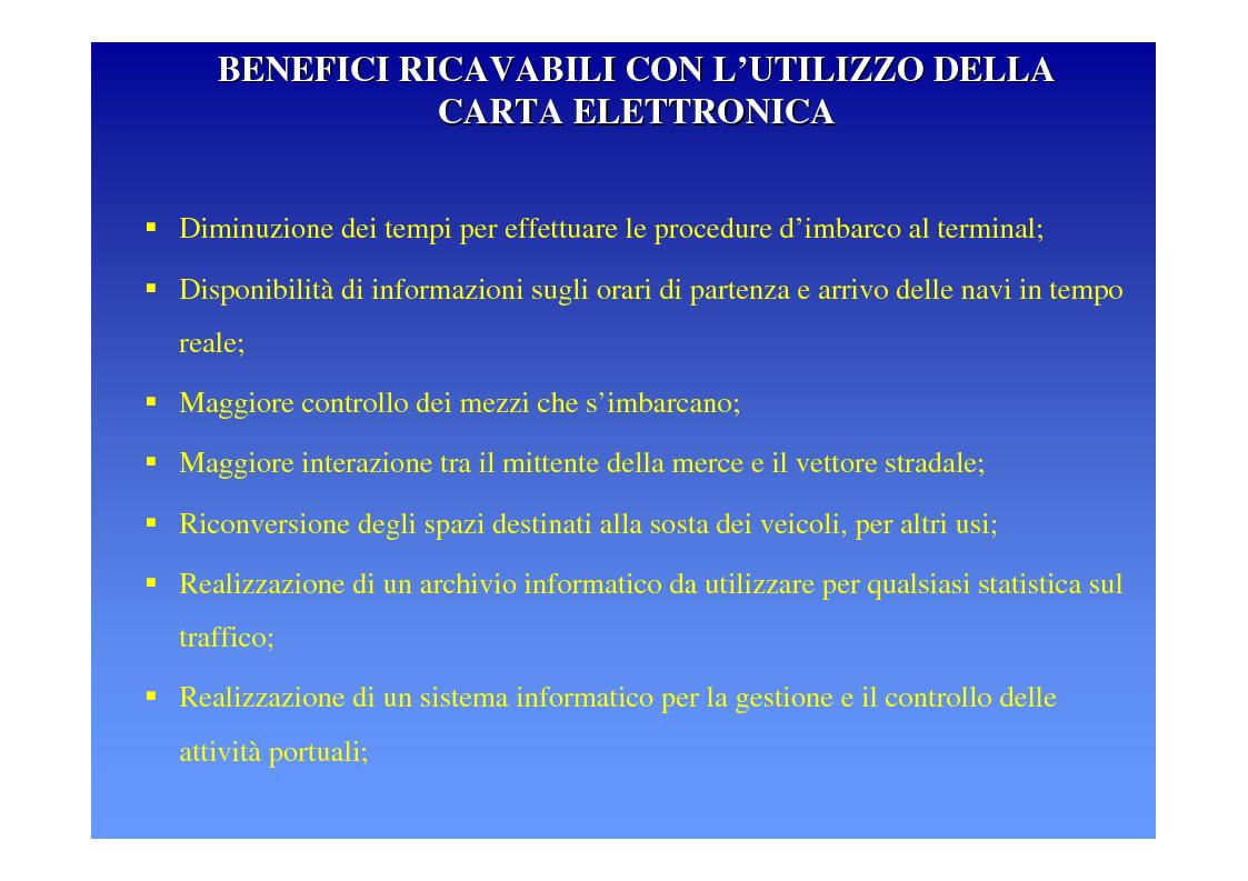 Anteprima della tesi: La logica del sistema portuale per lo sviluppo del trasporto combinato strada-mare in Sicilia, Pagina 27