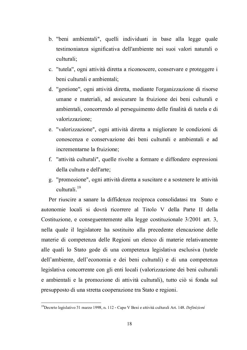 Anteprima della tesi: La promozione della cultura museale on line, Pagina 14