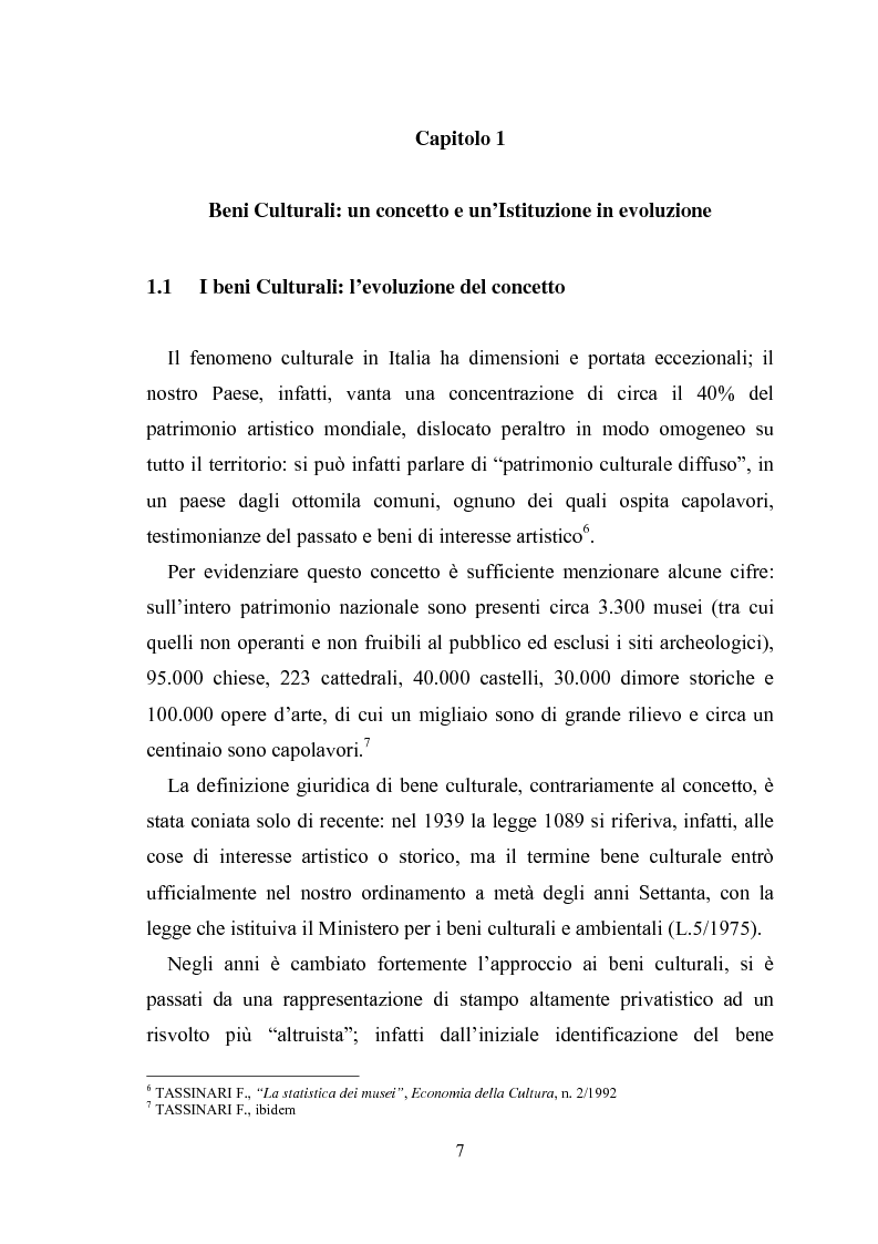 Anteprima della tesi: La promozione della cultura museale on line, Pagina 3