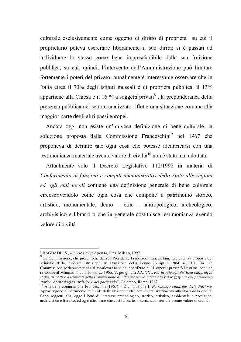 Anteprima della tesi: La promozione della cultura museale on line, Pagina 4