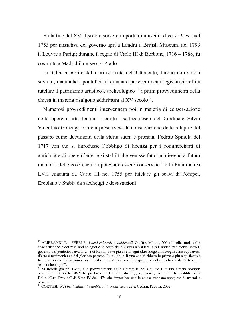 Anteprima della tesi: La promozione della cultura museale on line, Pagina 6