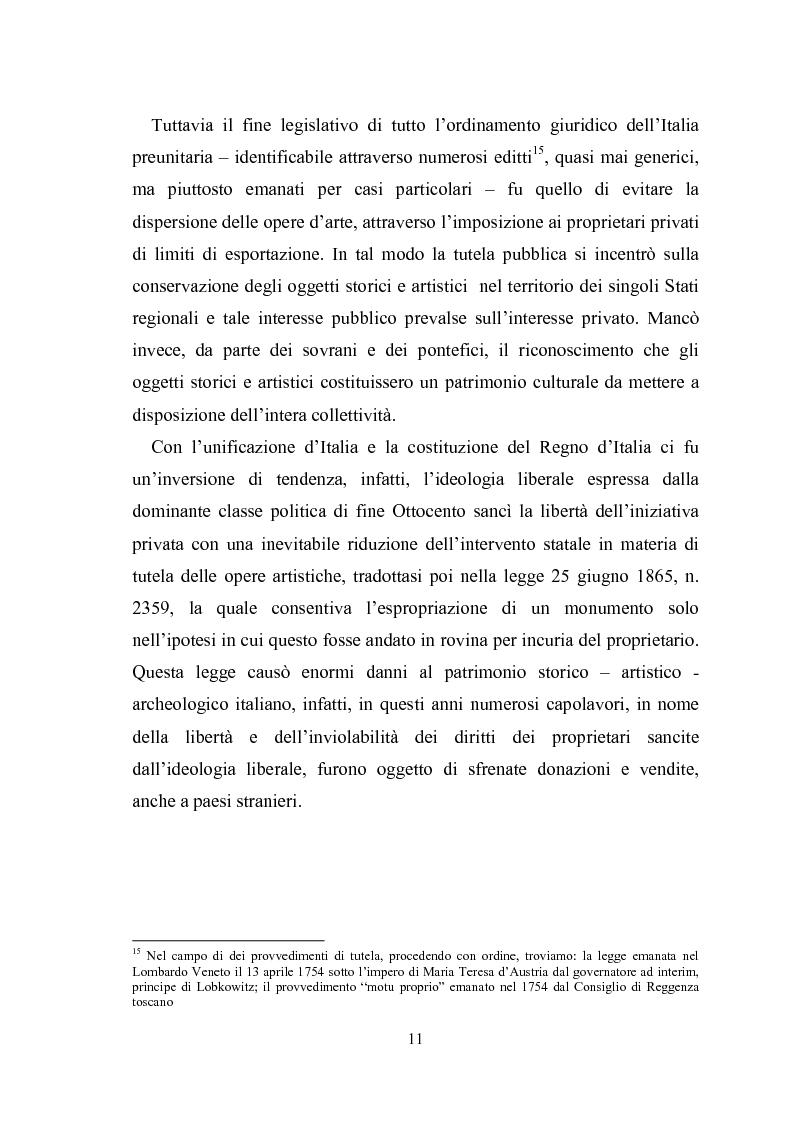 Anteprima della tesi: La promozione della cultura museale on line, Pagina 7