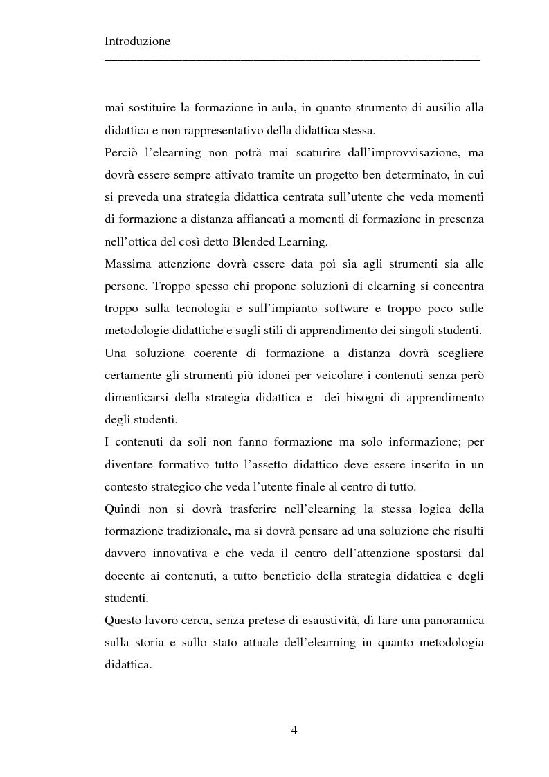 Anteprima della tesi: Le strategie dell'innovazione: e-learning. Un caso di studio., Pagina 2