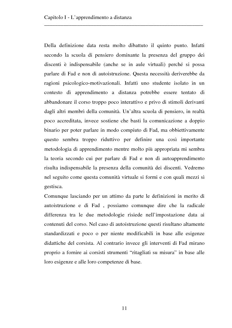 Anteprima della tesi: Le strategie dell'innovazione: e-learning. Un caso di studio., Pagina 9