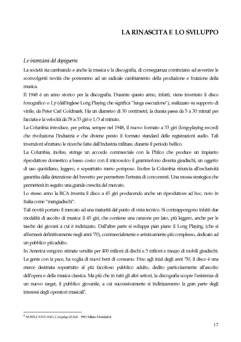 Anteprima della tesi: Il marketing strategico nell'industria discografica. Il caso BMG Ricordi, Pagina 12