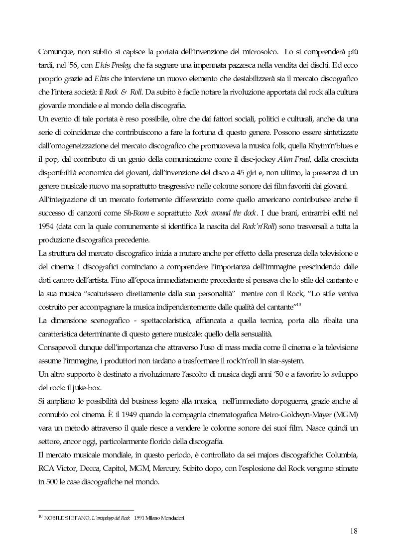 Anteprima della tesi: Il marketing strategico nell'industria discografica. Il caso BMG Ricordi, Pagina 13