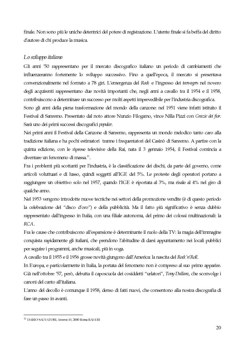Anteprima della tesi: Il marketing strategico nell'industria discografica. Il caso BMG Ricordi, Pagina 15