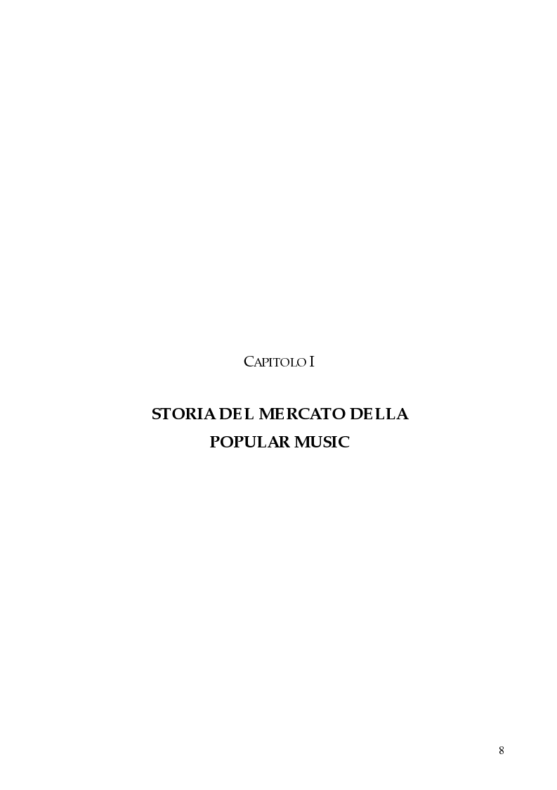 Anteprima della tesi: Il marketing strategico nell'industria discografica. Il caso BMG Ricordi, Pagina 3