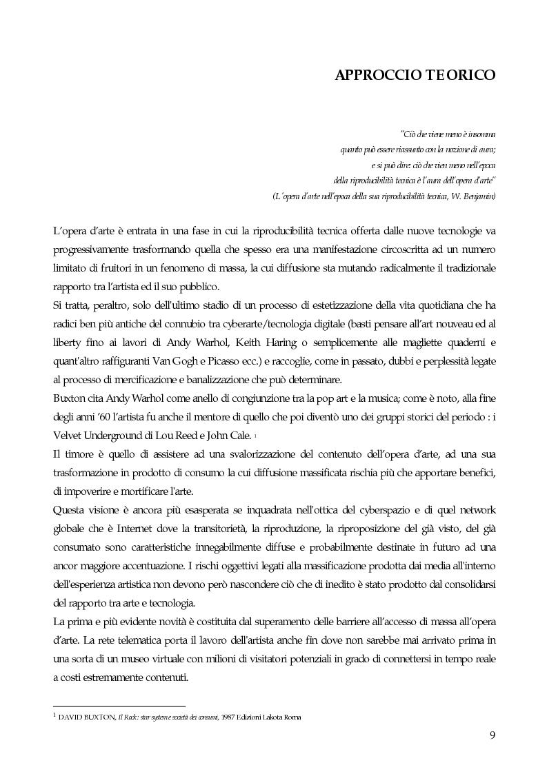 Anteprima della tesi: Il marketing strategico nell'industria discografica. Il caso BMG Ricordi, Pagina 4