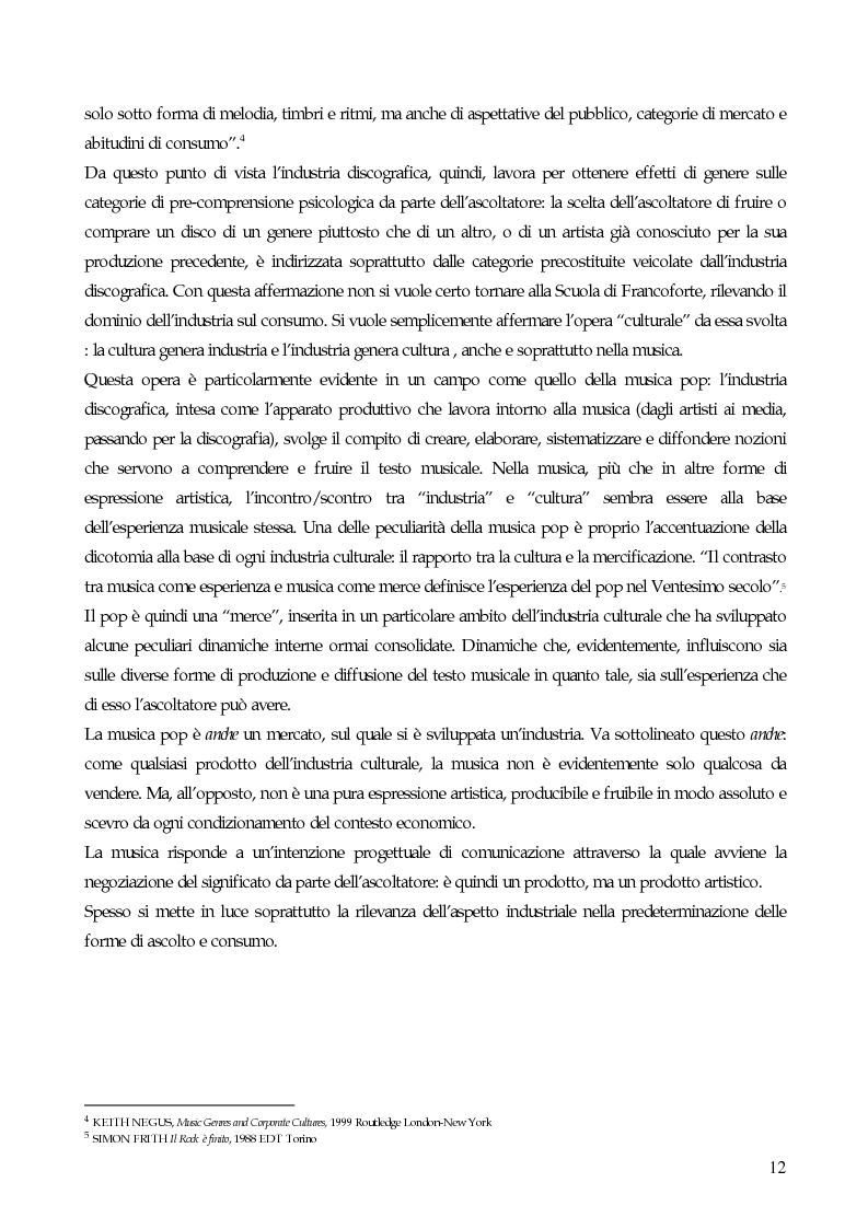 Anteprima della tesi: Il marketing strategico nell'industria discografica. Il caso BMG Ricordi, Pagina 7