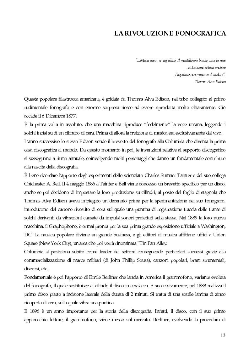 Anteprima della tesi: Il marketing strategico nell'industria discografica. Il caso BMG Ricordi, Pagina 8