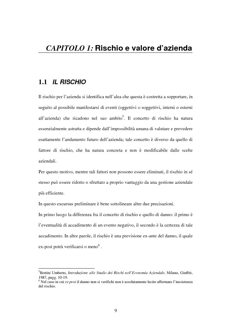 Anteprima della tesi: Le garanzie assicurative nella finanza aziendale, Pagina 4