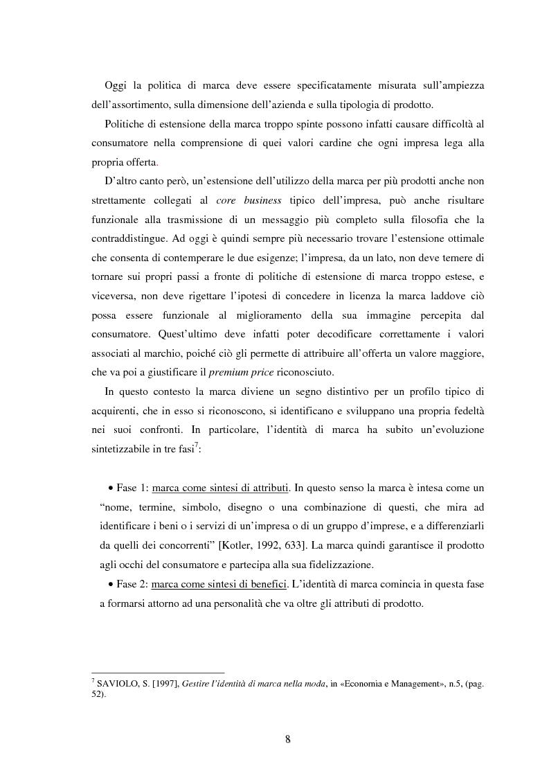 Anteprima della tesi: Moda e distribuzione, Pagina 10