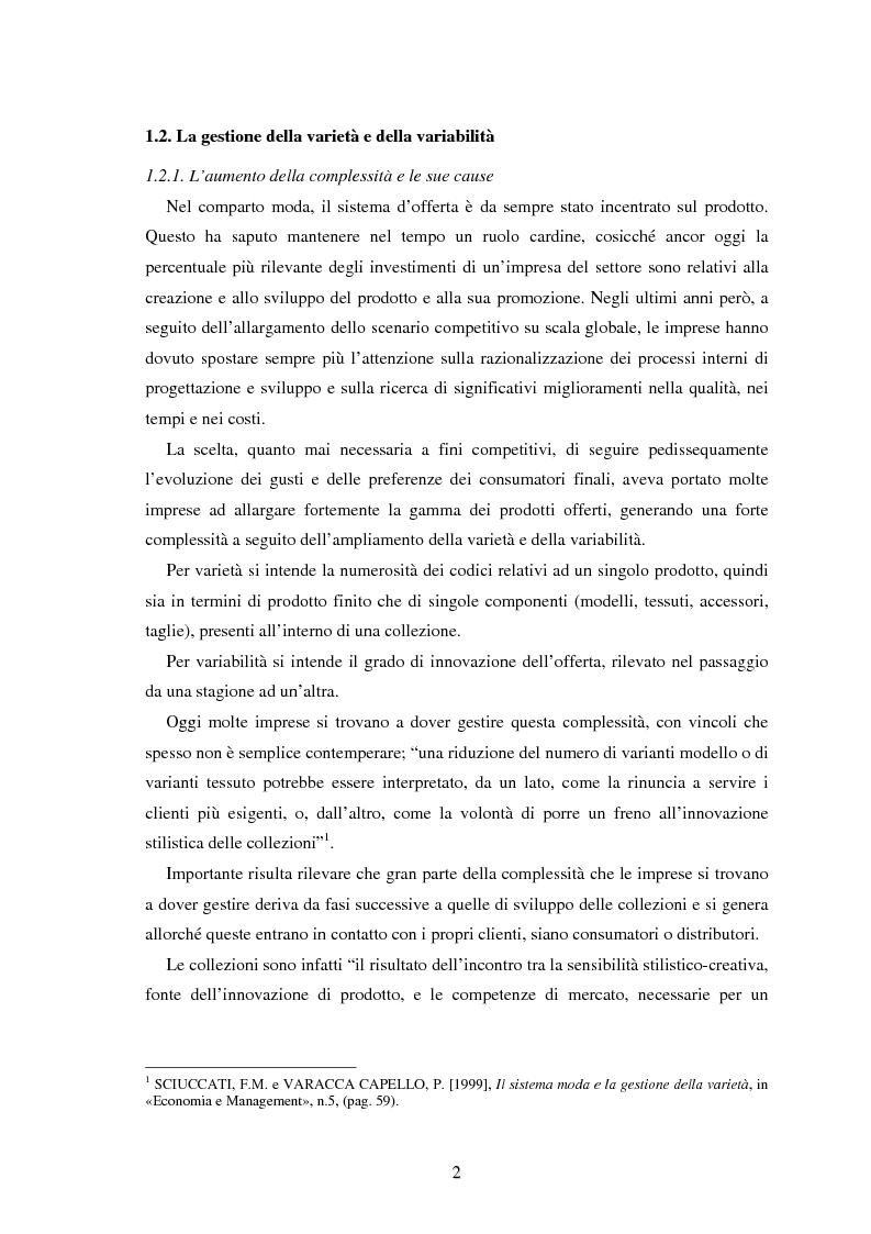 Anteprima della tesi: Moda e distribuzione, Pagina 4