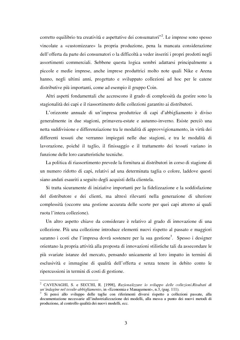 Anteprima della tesi: Moda e distribuzione, Pagina 5