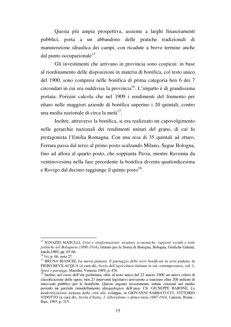 Anteprima della tesi: Agricoltura e innovazioni in Val Padana tra Otto e Novecento, Pagina 9