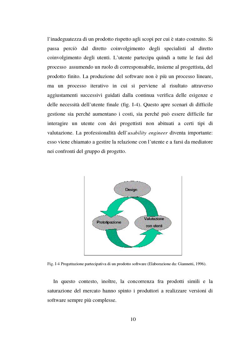 Anteprima della tesi: Qualità ed usabilità dei siti Web, Pagina 14