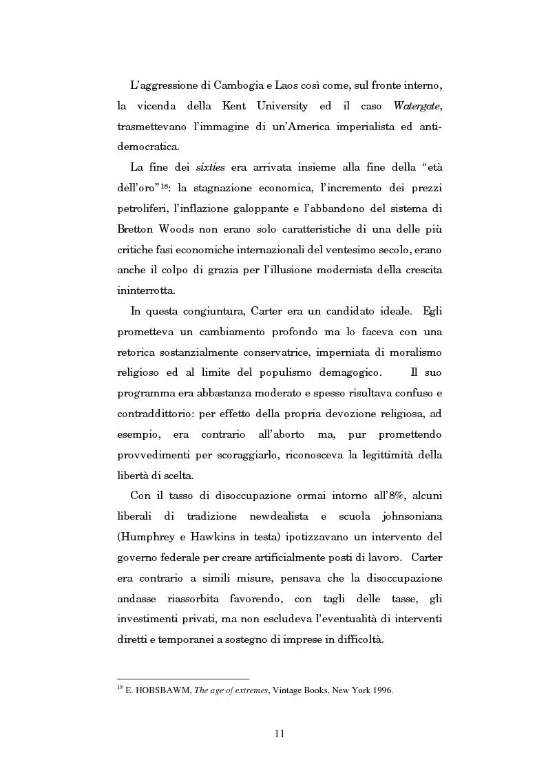Anteprima della tesi: Gli U.S.A. e la politica estera di Jimmy Carter: 1977-1981, Pagina 7