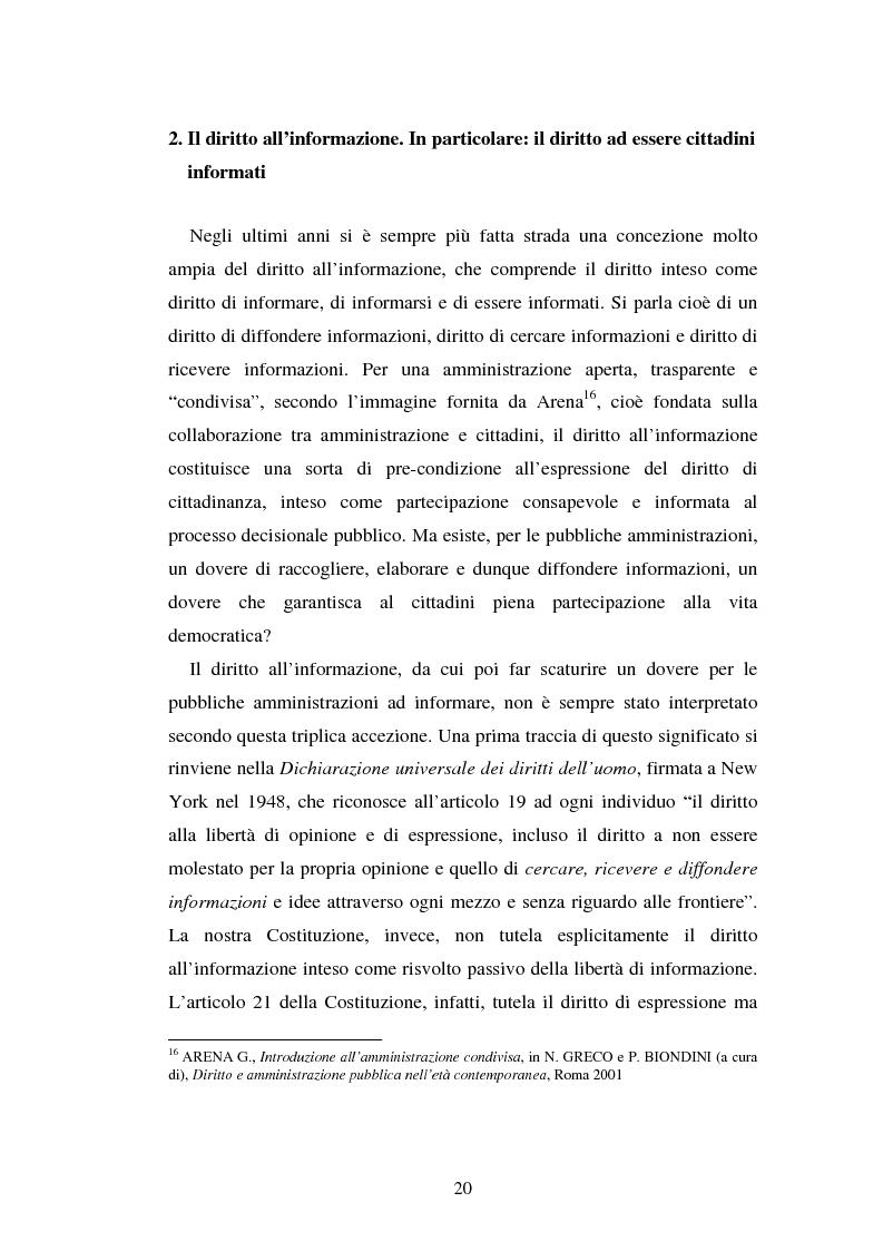 Anteprima della tesi: Gli uffici stampa delle pubbliche amministrazioni, Pagina 13