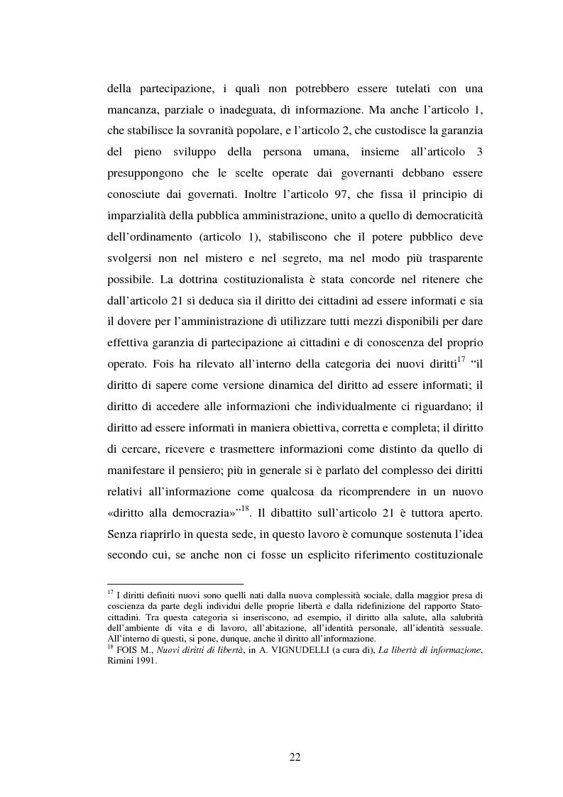 Anteprima della tesi: Gli uffici stampa delle pubbliche amministrazioni, Pagina 15