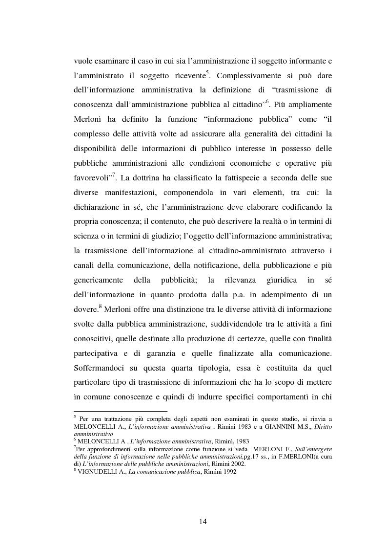 Anteprima della tesi: Gli uffici stampa delle pubbliche amministrazioni, Pagina 7