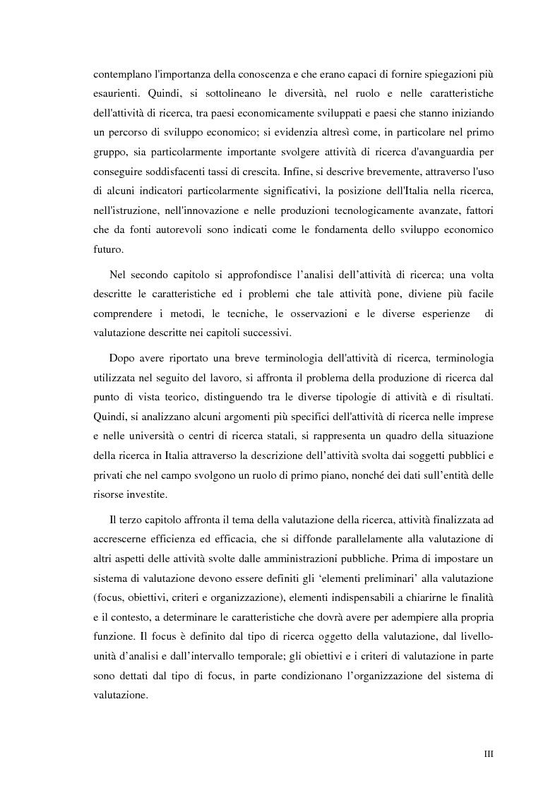 Anteprima della tesi: La valutazione della ricerca scientifica, Pagina 3