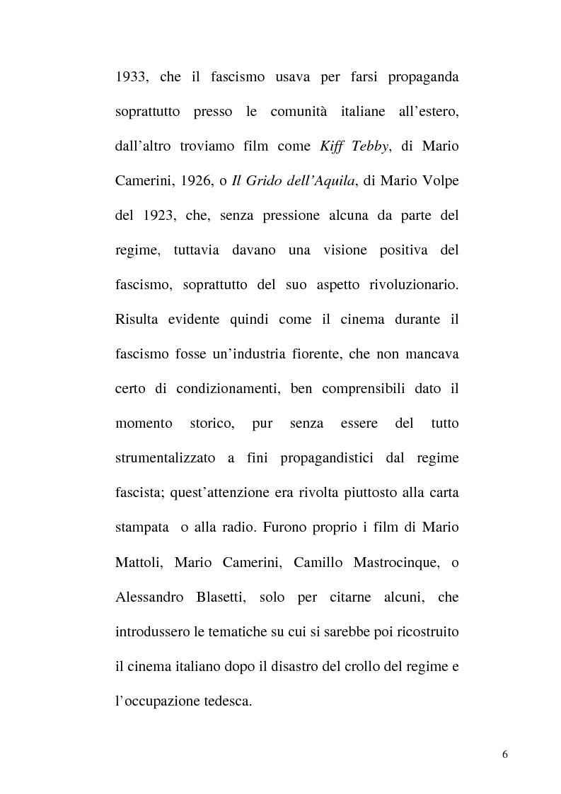 Anteprima della tesi: Linguaggio e realtà nel neorealismo cinematografico italiano, Pagina 5