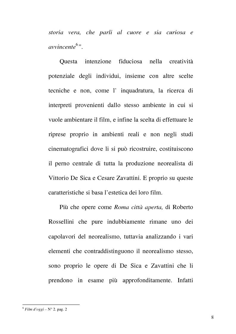 Anteprima della tesi: Linguaggio e realtà nel neorealismo cinematografico italiano, Pagina 7