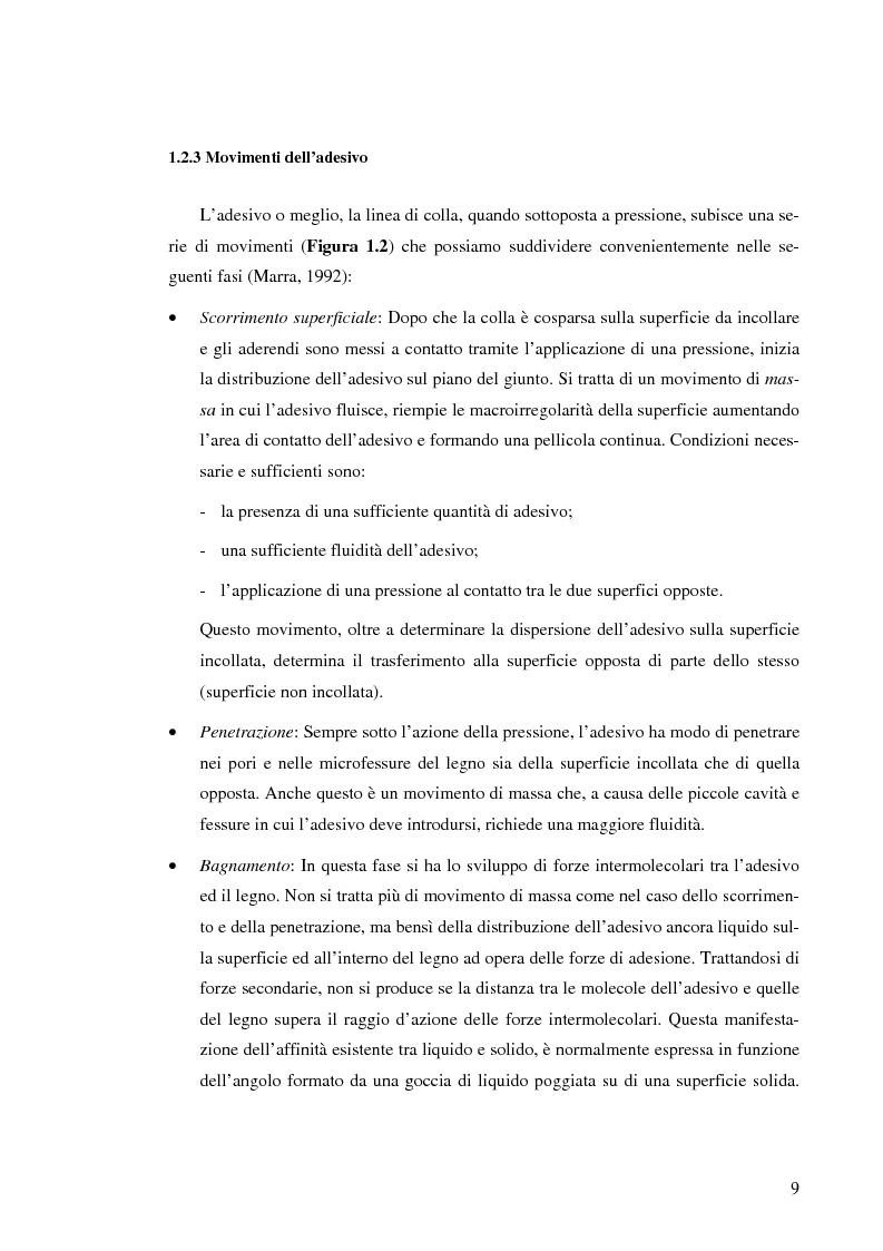 Anteprima della tesi: Prove di incollaggio per legno lamellare di Robinia Pseudoacacia L. destinato all'impiego in ambiente esterno, Pagina 9