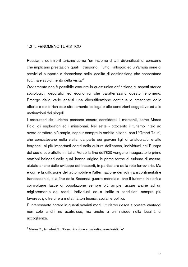 Anteprima della tesi: Il marketing relazionale nel settore turistico, Pagina 11