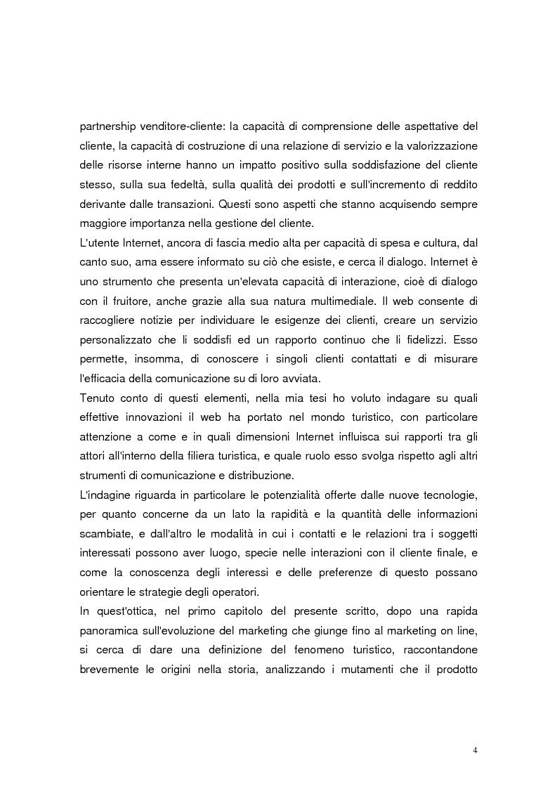 Anteprima della tesi: Il marketing relazionale nel settore turistico, Pagina 2
