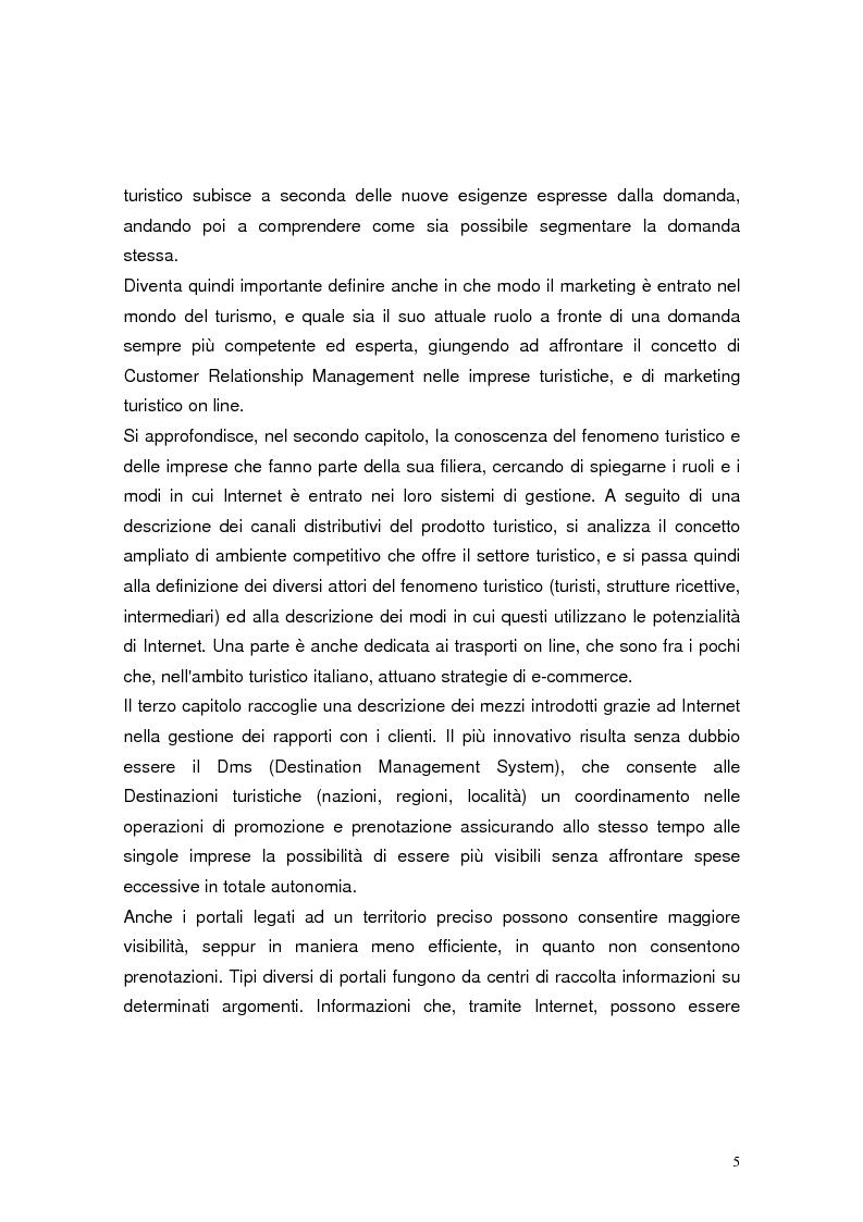 Anteprima della tesi: Il marketing relazionale nel settore turistico, Pagina 3