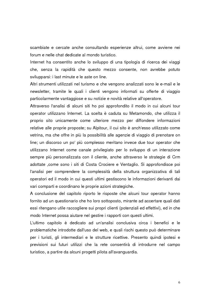 Anteprima della tesi: Il marketing relazionale nel settore turistico, Pagina 4