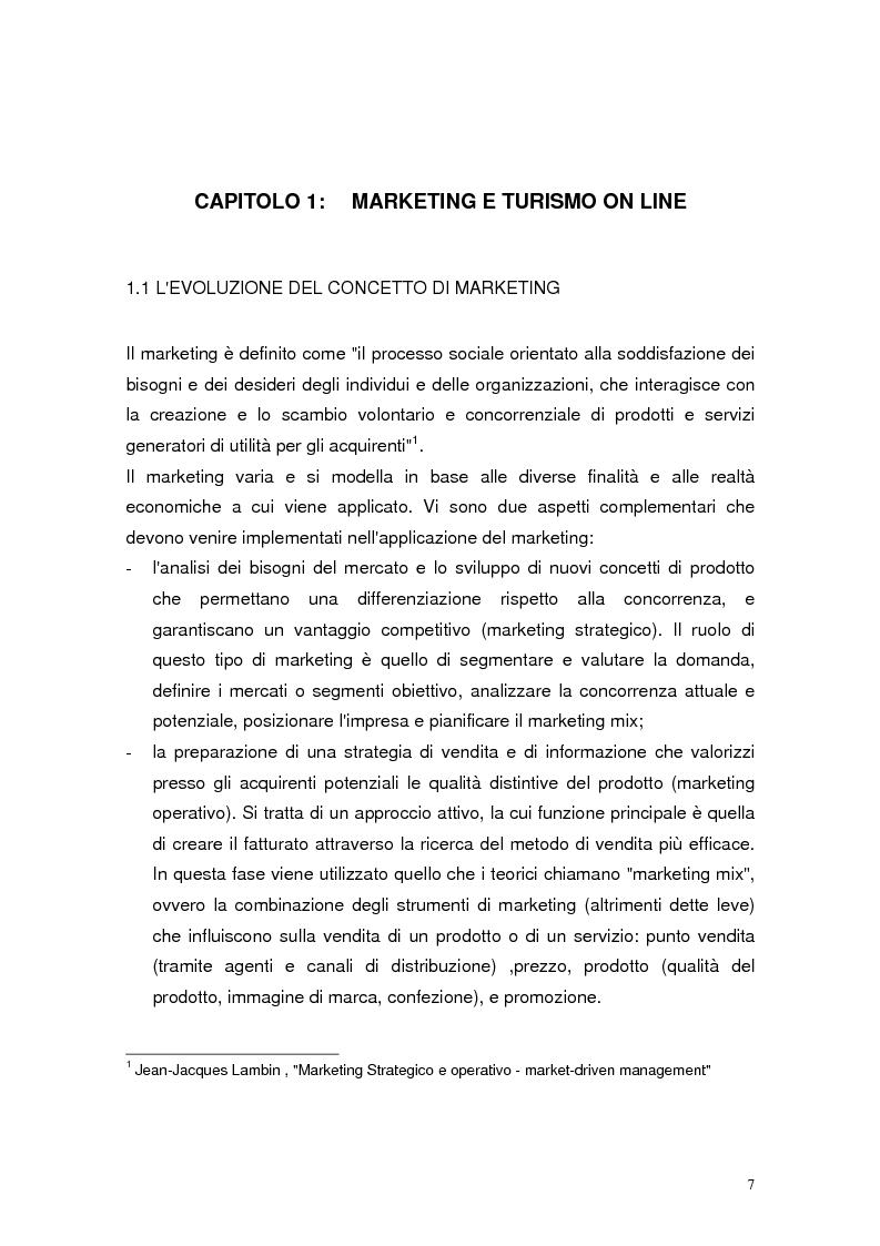 Anteprima della tesi: Il marketing relazionale nel settore turistico, Pagina 5