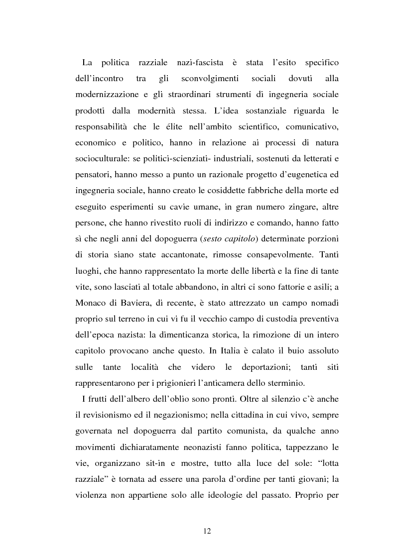 Anteprima della tesi: Un genocidio rimosso: il porrajmos zingaro, Pagina 10
