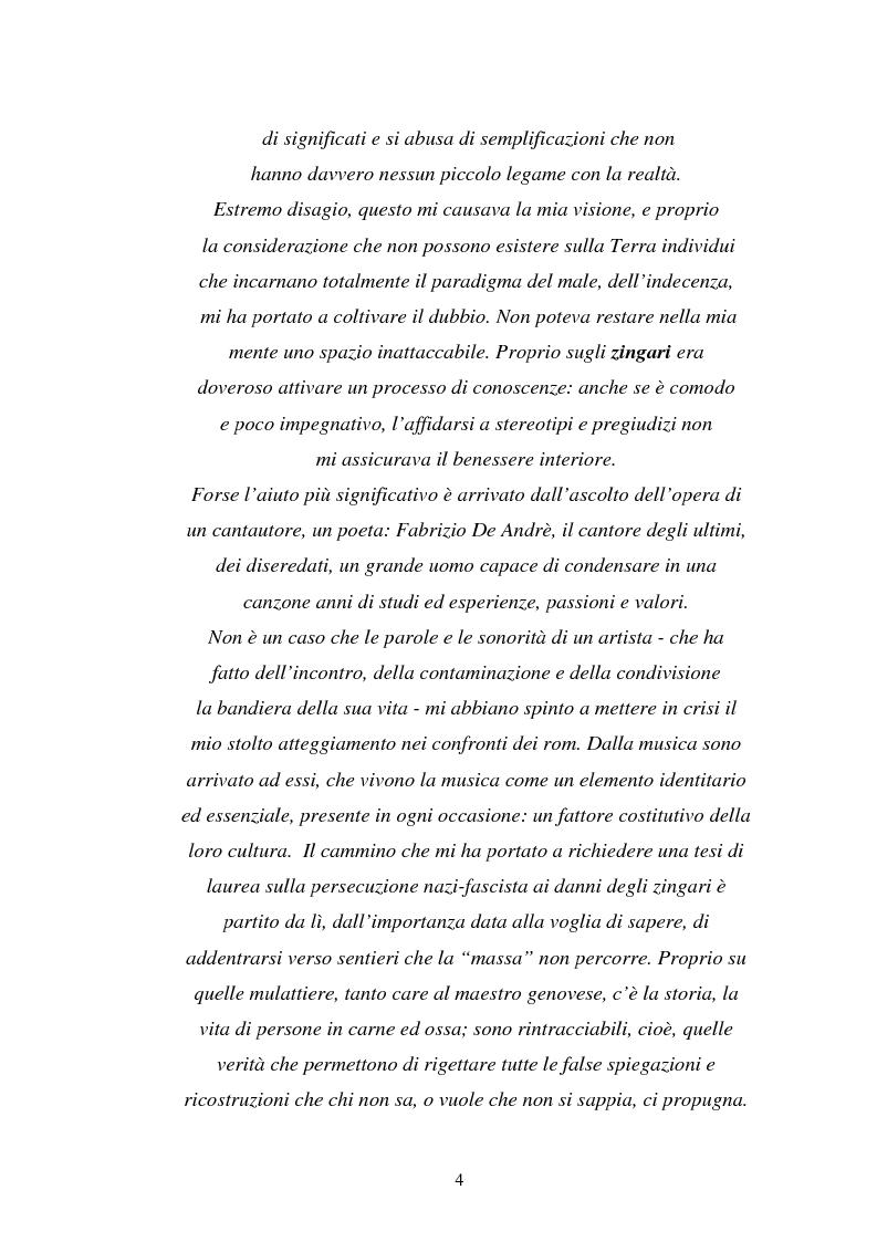Anteprima della tesi: Un genocidio rimosso: il porrajmos zingaro, Pagina 2