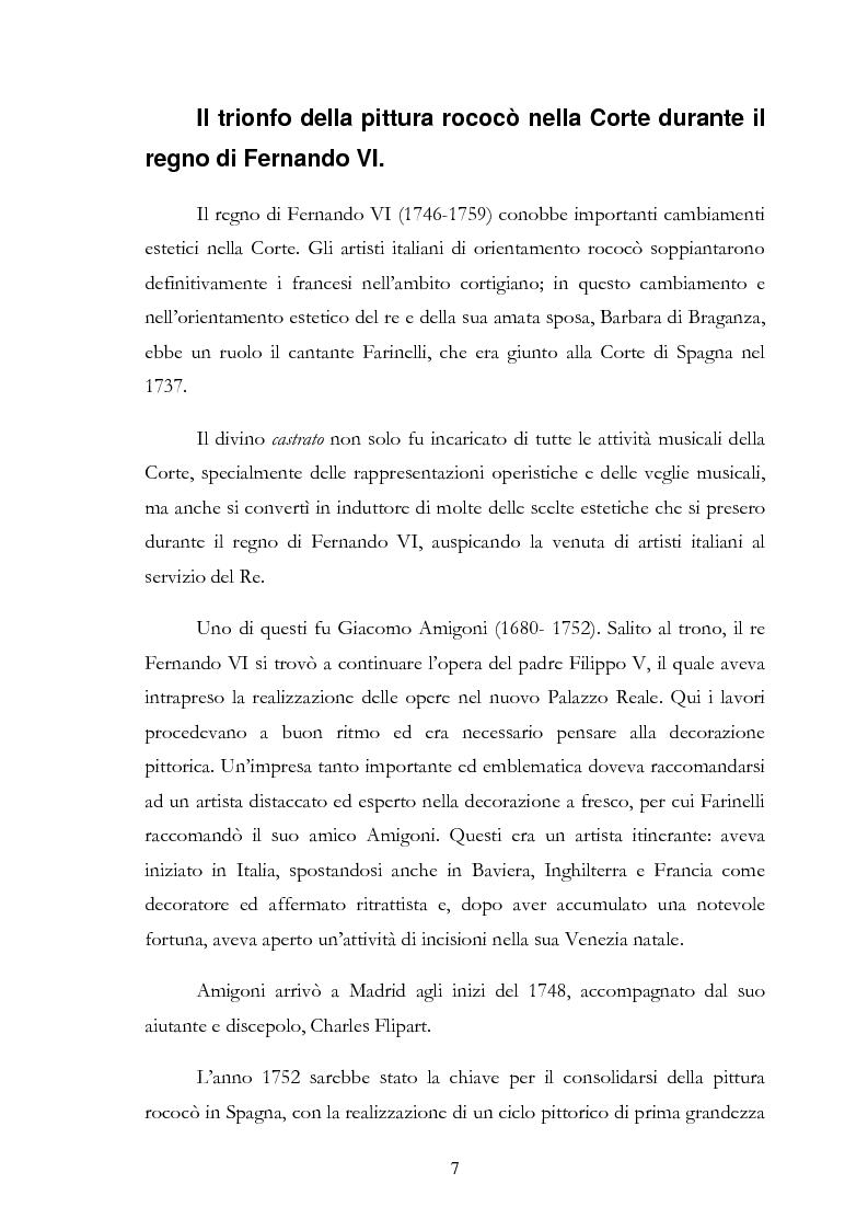 Anteprima della tesi: L'influsso di Corrado Giaquinto sulla pittura spagnola del XVIII secolo, Pagina 7