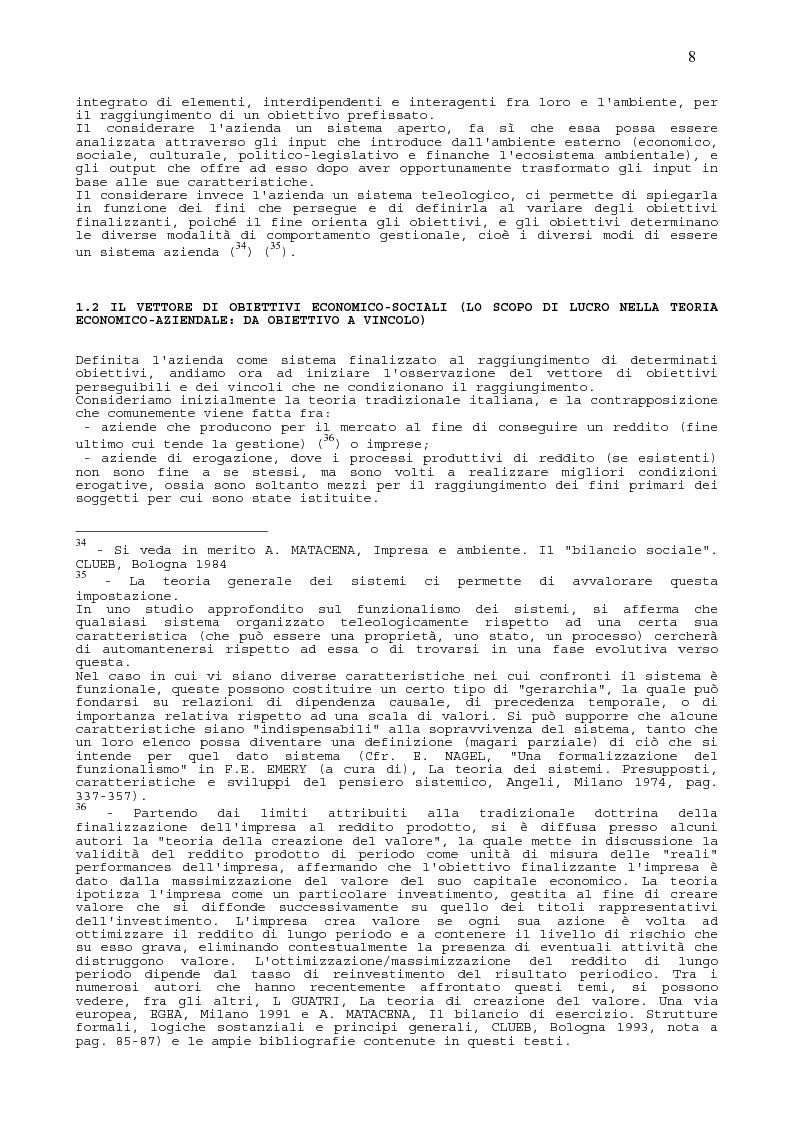 Anteprima della tesi: Il Sistema Informativo delle aziende ad Alto Contenuto Etico, Pagina 11