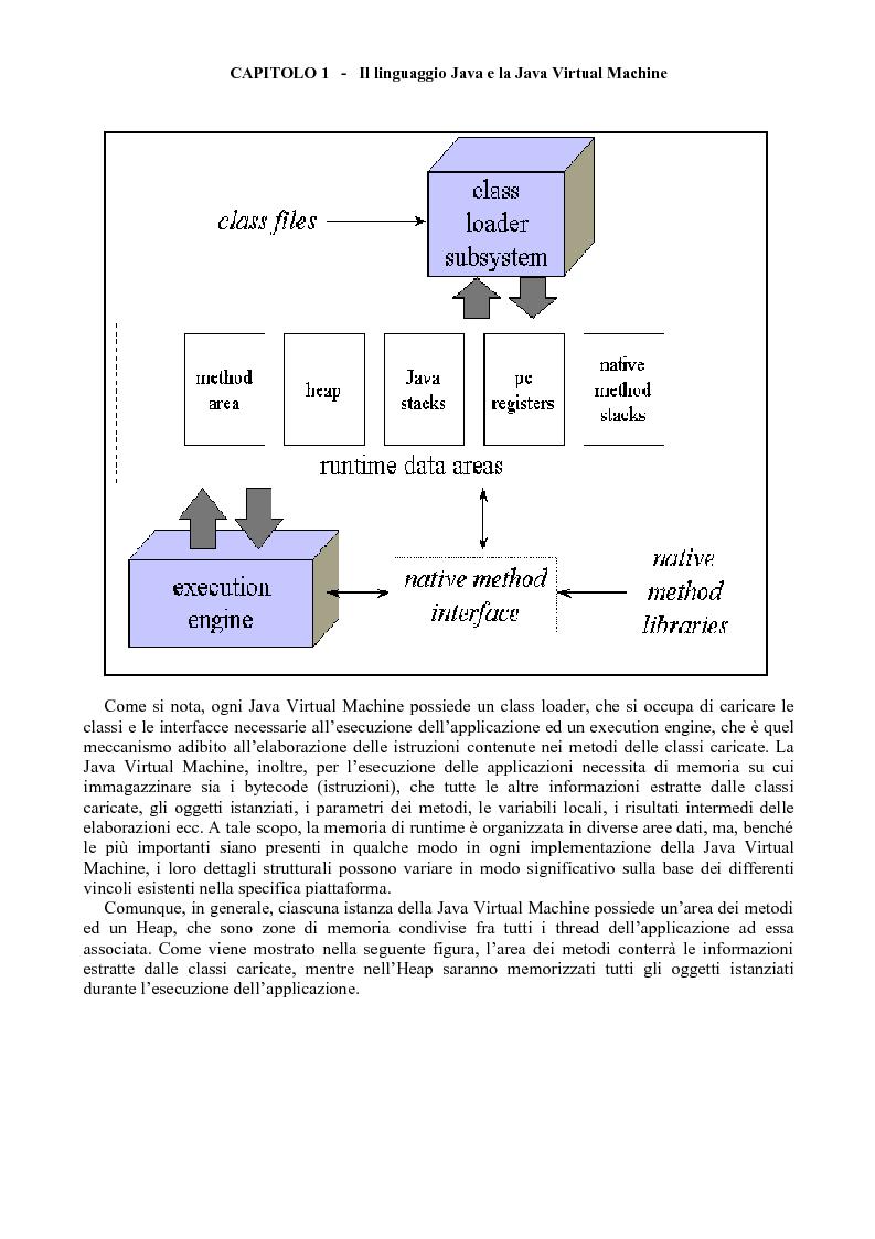 Anteprima della tesi: Sviluppo di software Java ad alte prestazioni e realizzazione di una suite di benchmarks per J2ME e J2SE orientati al DSP, Pagina 11