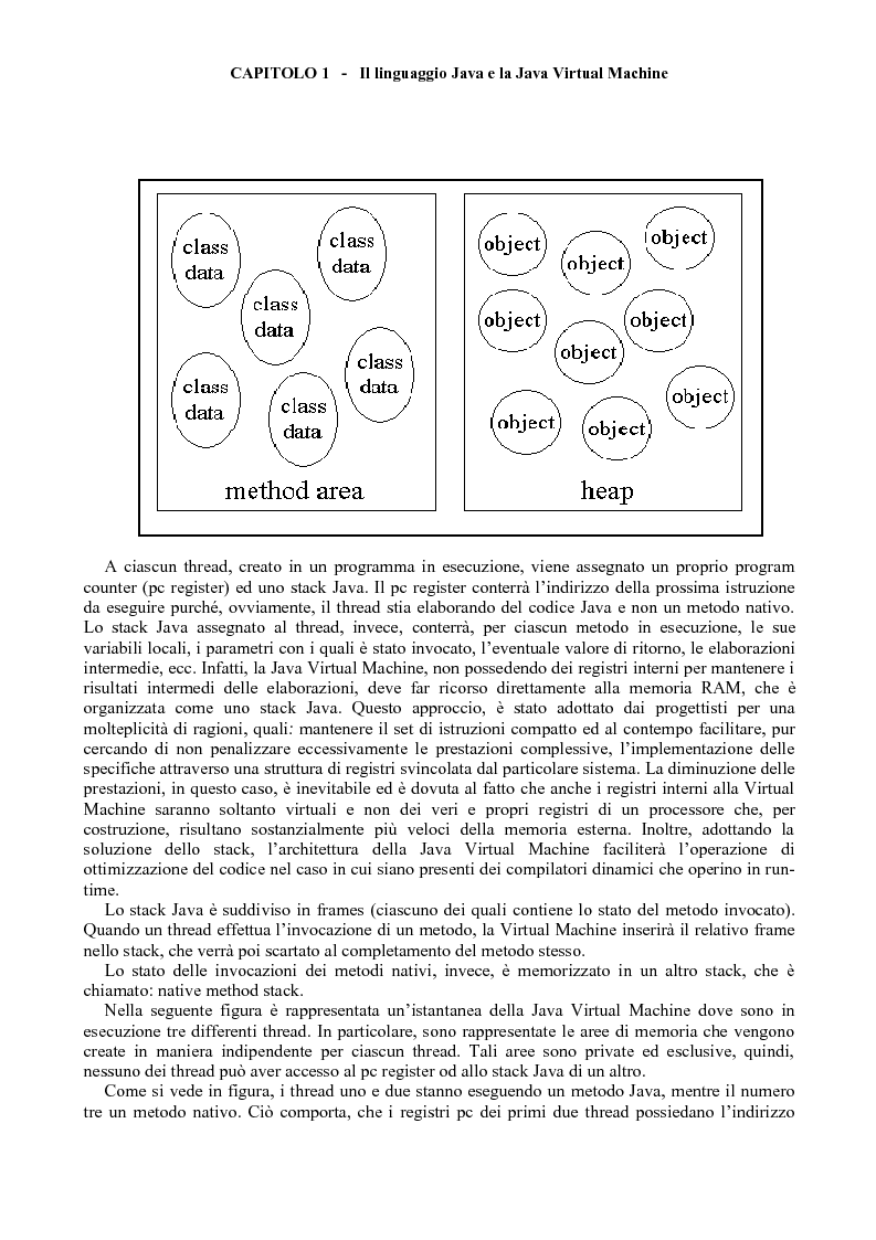Anteprima della tesi: Sviluppo di software Java ad alte prestazioni e realizzazione di una suite di benchmarks per J2ME e J2SE orientati al DSP, Pagina 12