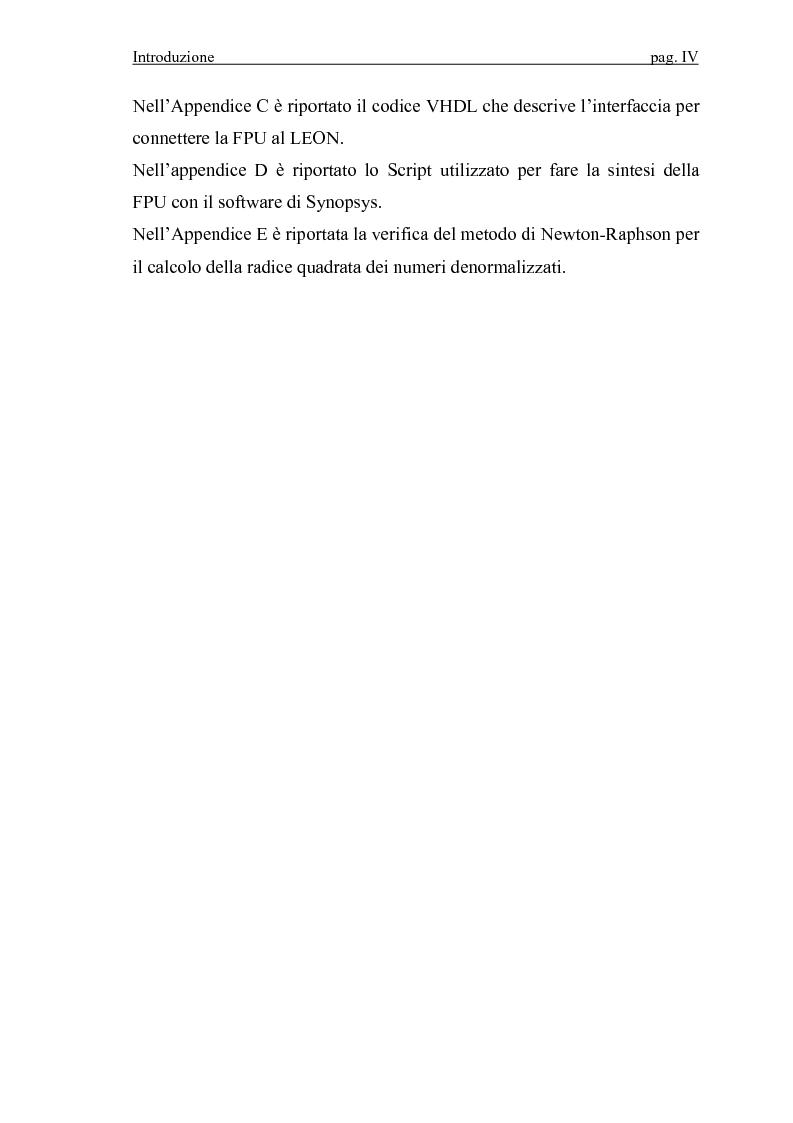 Anteprima della tesi: Progettazione VLSI di un coprocessore matematico per sistemi embedded, Pagina 4