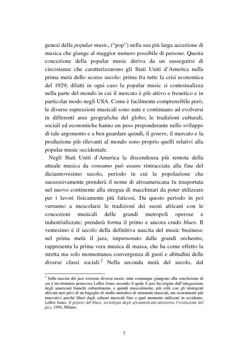 Anteprima della tesi: Mercato discografico e Internet: risposte strategiche degli operatori del settore, Pagina 4