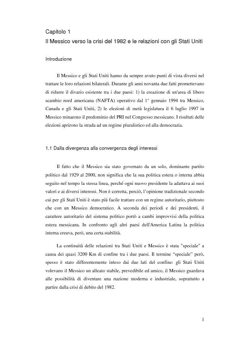 Anteprima della tesi: Il crollo del peso messicano e cenni sulla crisi asiatica, Pagina 10