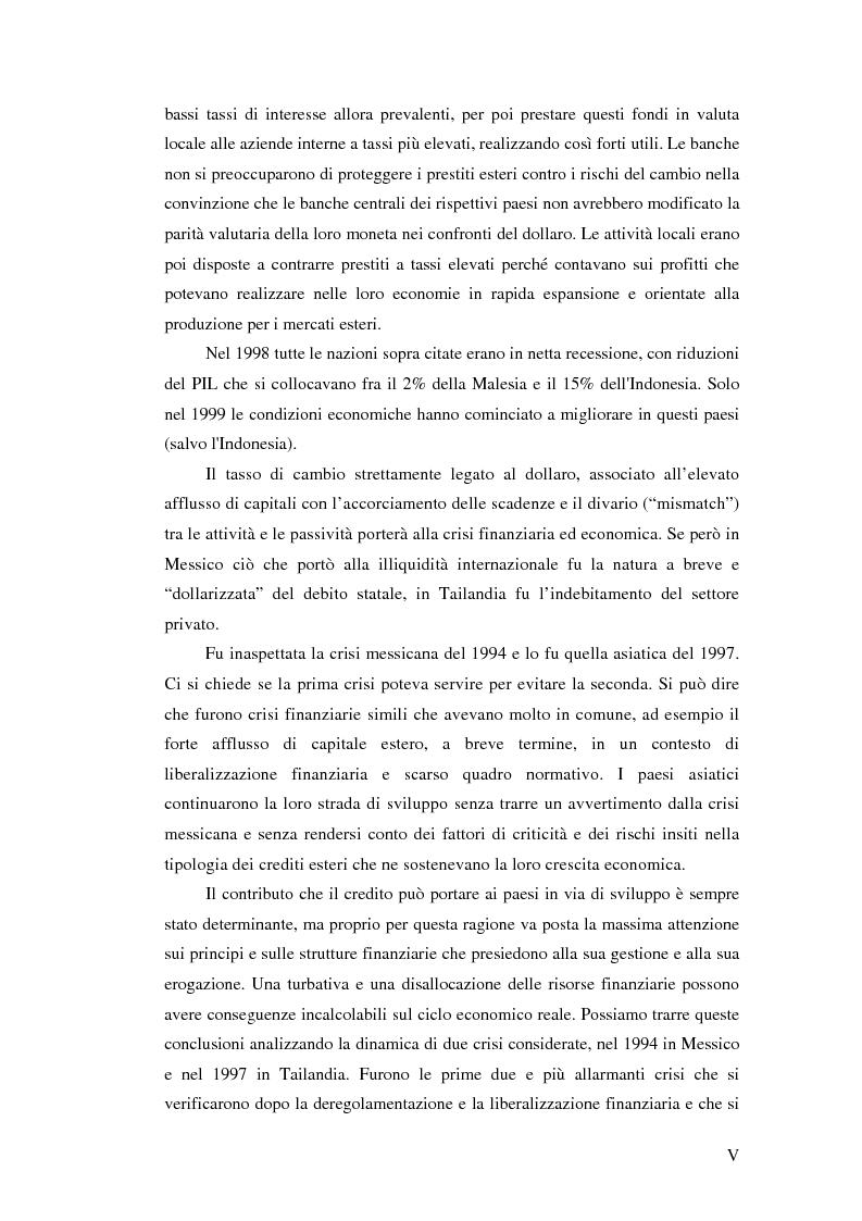 Anteprima della tesi: Il crollo del peso messicano e cenni sulla crisi asiatica, Pagina 5