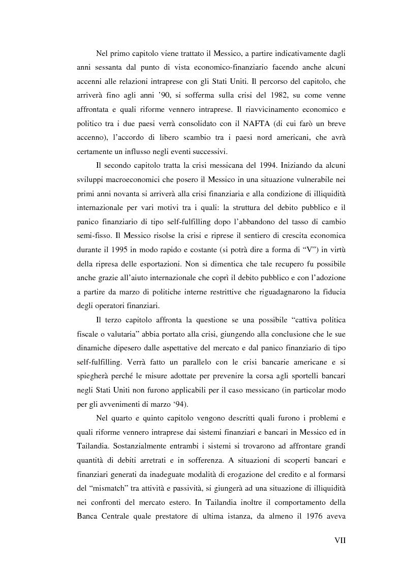 Anteprima della tesi: Il crollo del peso messicano e cenni sulla crisi asiatica, Pagina 7