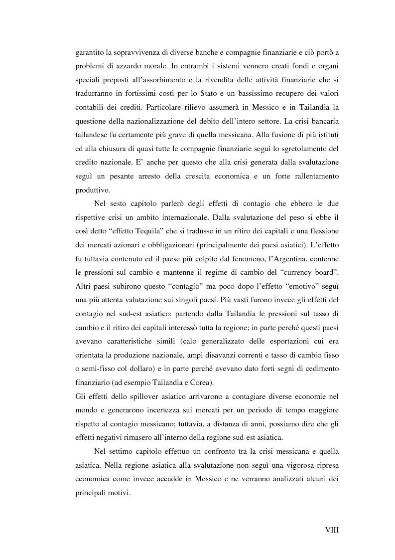 Anteprima della tesi: Il crollo del peso messicano e cenni sulla crisi asiatica, Pagina 8